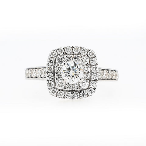 18ct White Gold Solitaire Diamond Ring at Bramley's Jewellers of Carlow