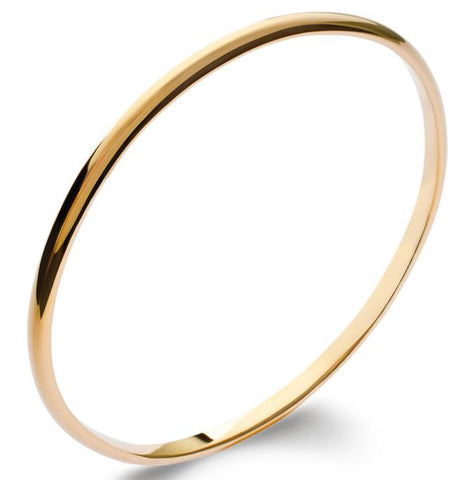 18k gold plated bangle is great for a self purchase or gift and can be layered up with other bangles for a stacking affect