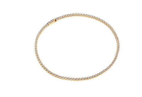 Sif Jakobs Bracelet Ellera 18K Yellow Gold Plated With White Cubic Zirconia's at Bramley's of Carlow