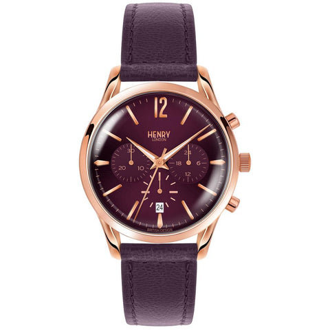 HENRY LONDON'S HAMPSTEAD 39MM CHRONOGRAPH WRISTWATCH
