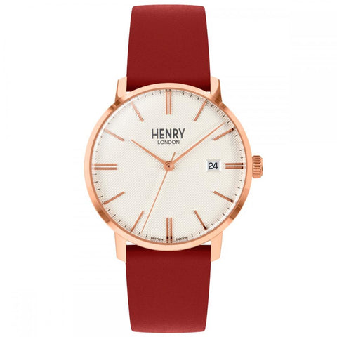 HENRY LONDON'S 40MM WRISTWATCH FROM OUR REGENCY COLLECTION.