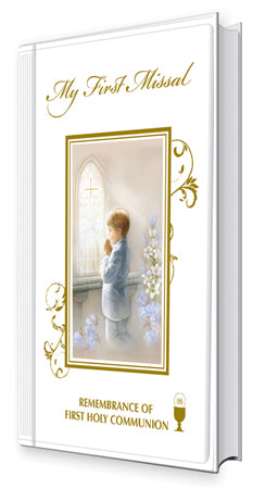Communion Hard Back Book For a Boy at Bramleys of Carlow