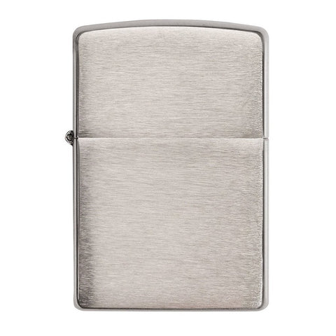 This Armor® Brushed Chrome windproof lighter makes a great gift.