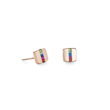 Load image into Gallery viewer, Coeur De Lion Rose Gold on Stainless steel Earrings