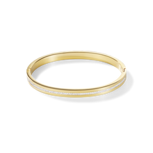 Load image into Gallery viewer, Coeur De Lion Gold on Stainless steel Bangle