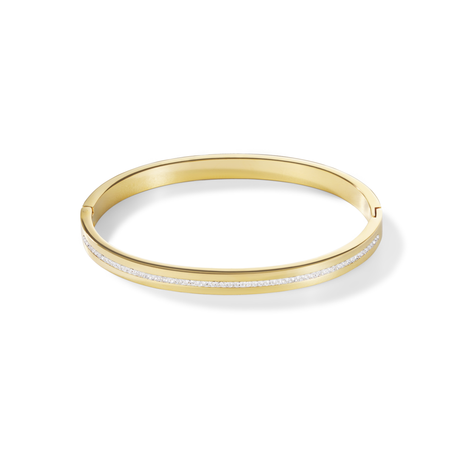 Coeur De Lion Gold on Stainless steel Bangle