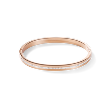 Load image into Gallery viewer, Coeur De Lion Rose Gold on Stainless steel Bangle