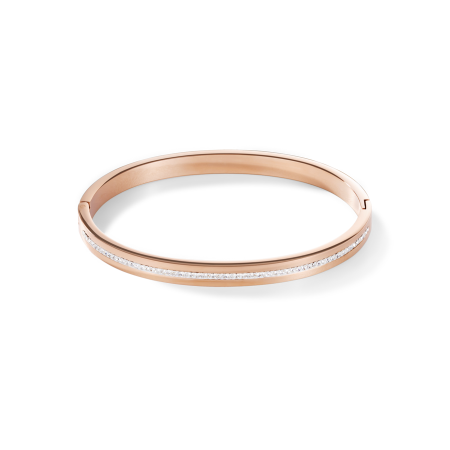 Coeur De Lion Rose Gold on Stainless steel Bangle