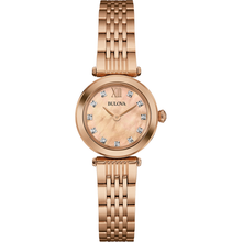Load image into Gallery viewer, Bulova Rose Gold Ladies Watch