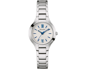 Bulova Ladies Classic Stainless Steel Watch