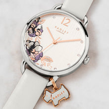 Load image into Gallery viewer, Radley Stainless Steel Floral Print Face Watch