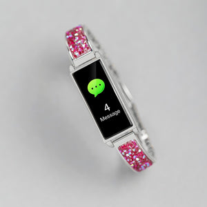 Reflex Active Series 2 Smart Watch with Colour Touch Screen and Pink Glitter Strap