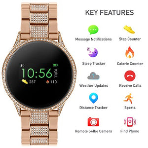 Reflex Active Series 4 Smart Watch with Heart Rate Monitor