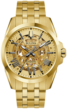 Load image into Gallery viewer, Bulova Men's Gold Plated Watch