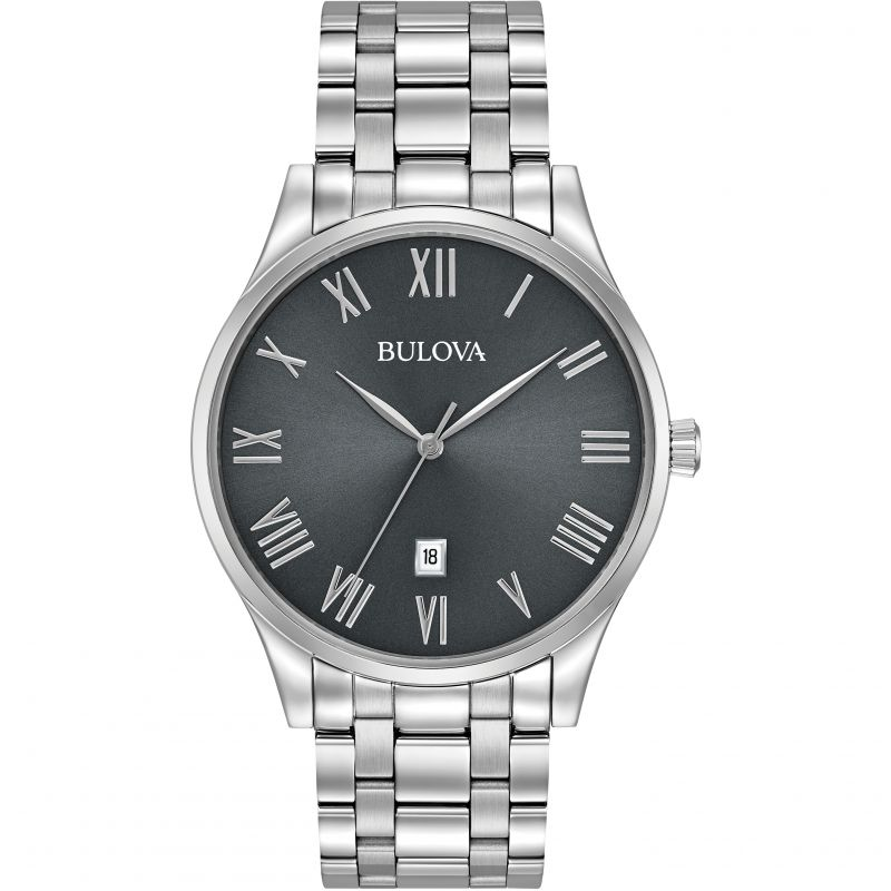 Bulova Men's Stainless Steel Classic Watch