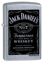 Load image into Gallery viewer, Jack Daniels Street Chrome Zippo Lighter