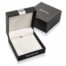 Load image into Gallery viewer, Waterford Crystal Sterling Silver White Cubic Zirconia Set 5 Drop Bar Necklace
