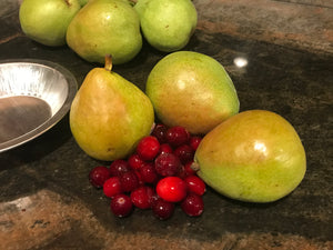Pear Cranberry Pie Kit
