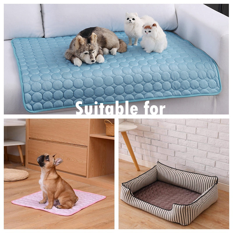Dog and Cat Cooling Pet Bed