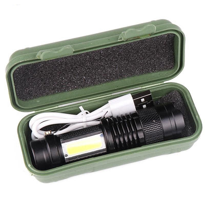 Flashlight with Built in Battery