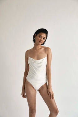 The Hamptons Bodysuit (Ivory)