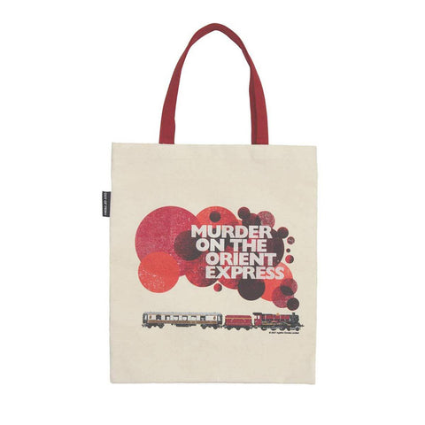 Murder on the Orient Express - Agatha Christie - Bookish tote bag