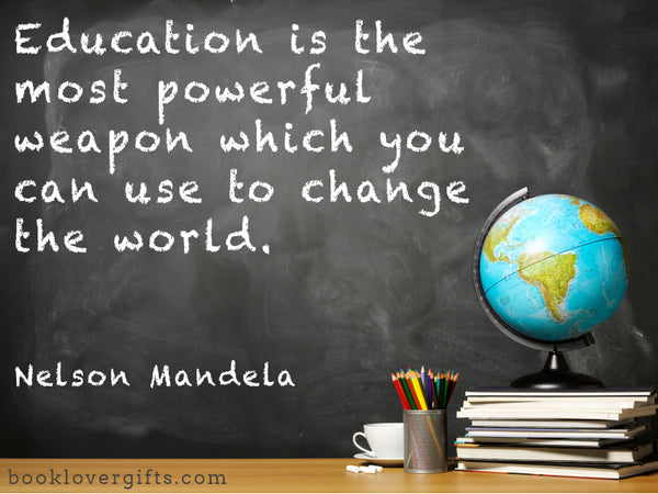 education quotation nelson mandela
