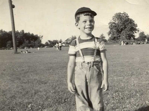 Young Stephen King as a child