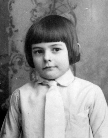 Young Ernest Hemingway as a child