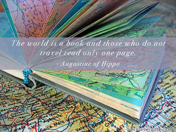 world is a book quotation