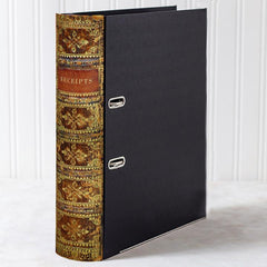Box Book File - Antique - Choose Your Colour & Title