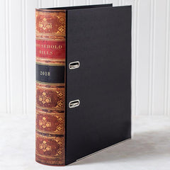 Lever Arch Book File - Antique - Choose Your Colour & Title