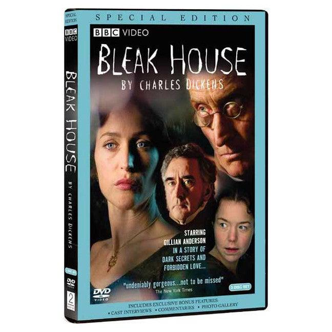 DVD - Bleak House - Charles Dickens - BBC - 2005-DVD-Book Lover Gifts