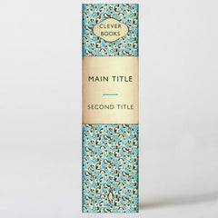 Vintage Pattern book box lever arch file
