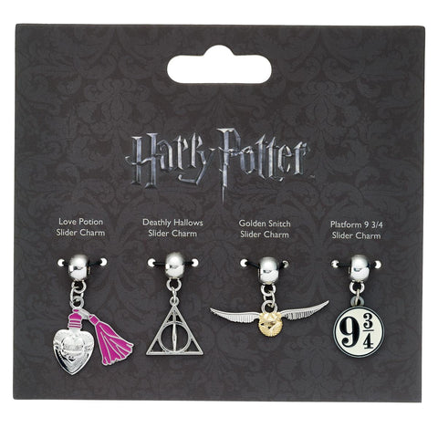 Slider Charm / Pendant Set - Harry Potter-Jewellery-Book Lover Gifts