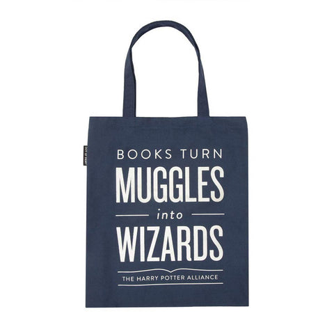 Tote Bag - Harry Potter Themed - Books Turn Muggles Into Wizards
