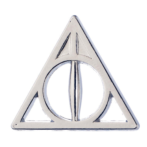 Pin Badge / Brooch - Deathly Hallows - Harry Potter-Jewellery-Book Lover Gifts