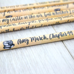 Pencils Set - Little Women Quotations