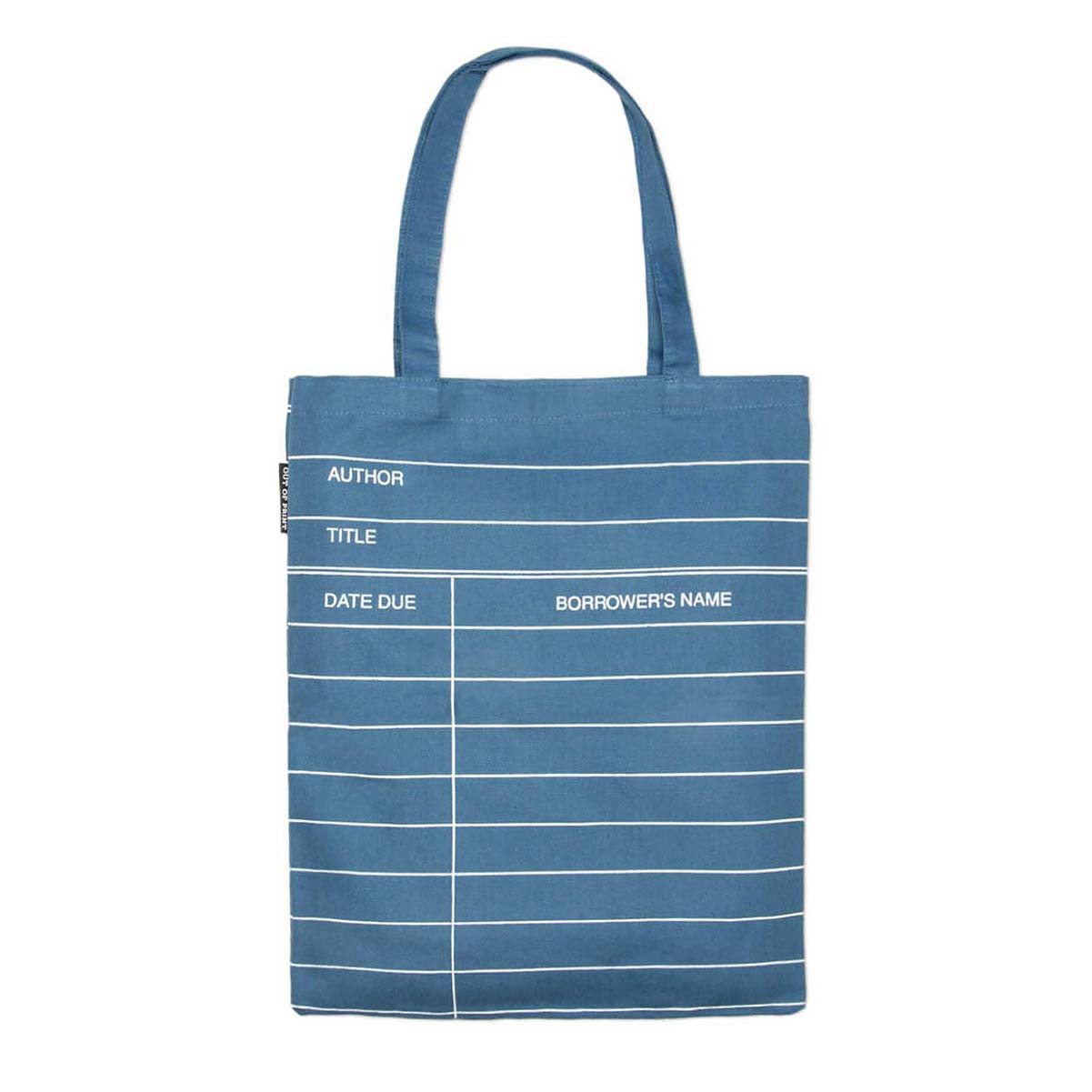 Tote Bag - Library Card - Various Colours