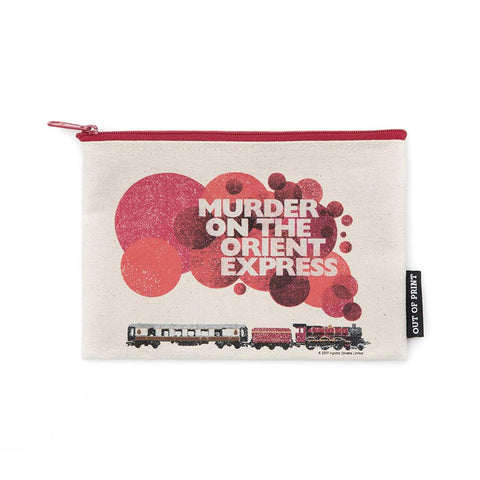 Pouch / Zip Up / Make Up Bag / Pencil Case - Murder On The Orient Express