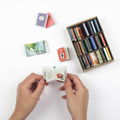 My Miniature Library : 30 Tiny Books to Make, Read and Treasure-Game-Book Lover Gifts