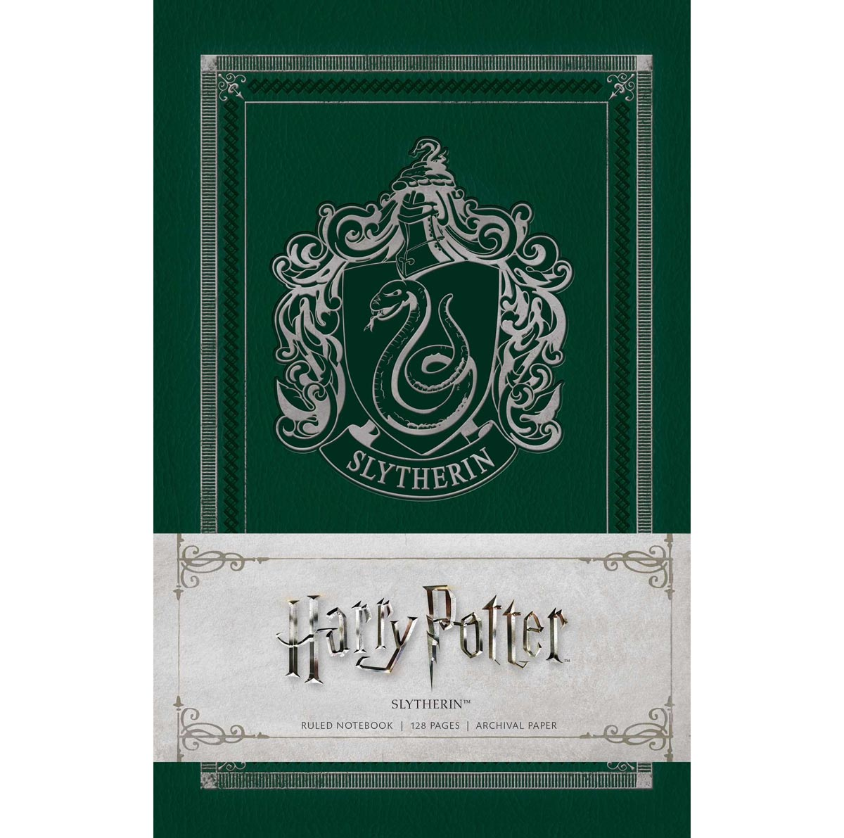 Notebook - Harry Potter - Slytherin-Note Book-Book Lover Gifts