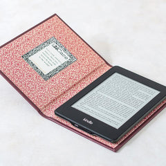 Book Cover - Kindle / Tablet / eReader - Customisable - Berry Pink