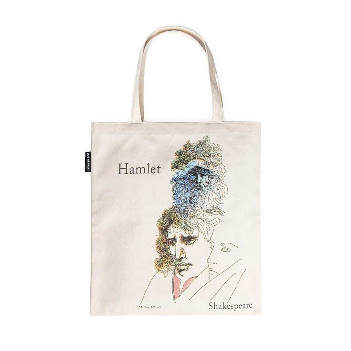 Tote Bag - William Shakespeare - Hamlet and The Tempest