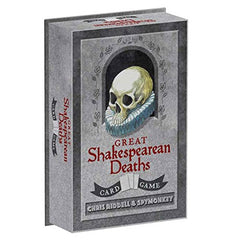 Card Game - Great Shakespearean Deaths-Game-Book Lover Gifts