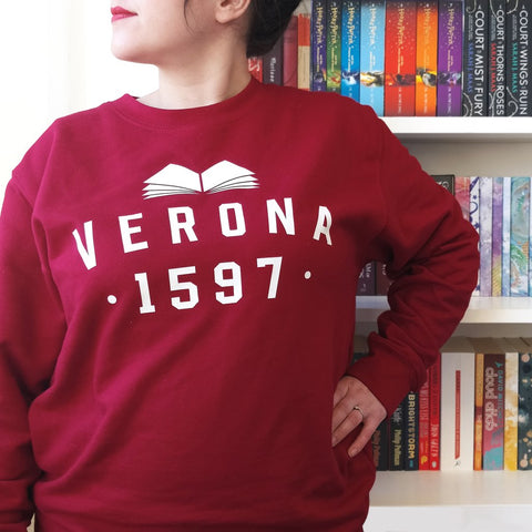 Sweatshirt Top - Verona - Romeo & Juliet