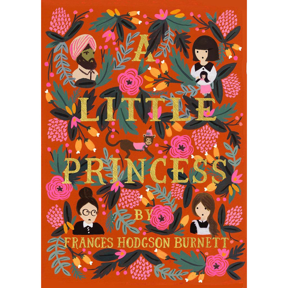 A Little Princess - Frances Hodgson Burnett - Puffin in Bloom Edition-Book-Book Lover Gifts