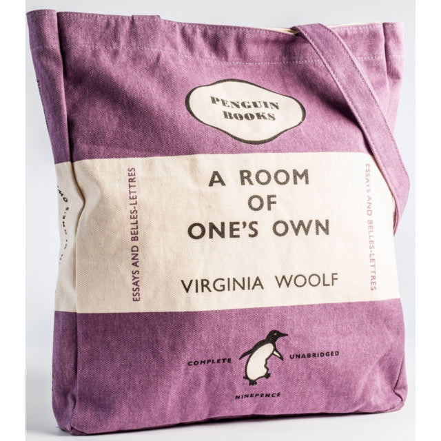 Book Bag - A Room of One's Own - Penguin-Bag-Book Lover Gifts
