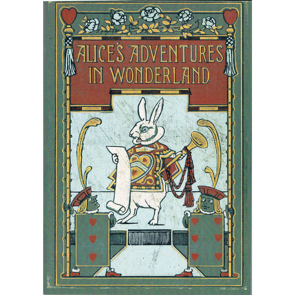 Notepad - Alice's Adventures in Wonderland-Note Book-Book Lover Gifts