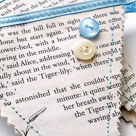 Book Bunting - Alice In Wonderland - Lewis Carroll-Gifts-Book Lover Gifts